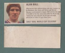 England Alan Ball Everton DM70
